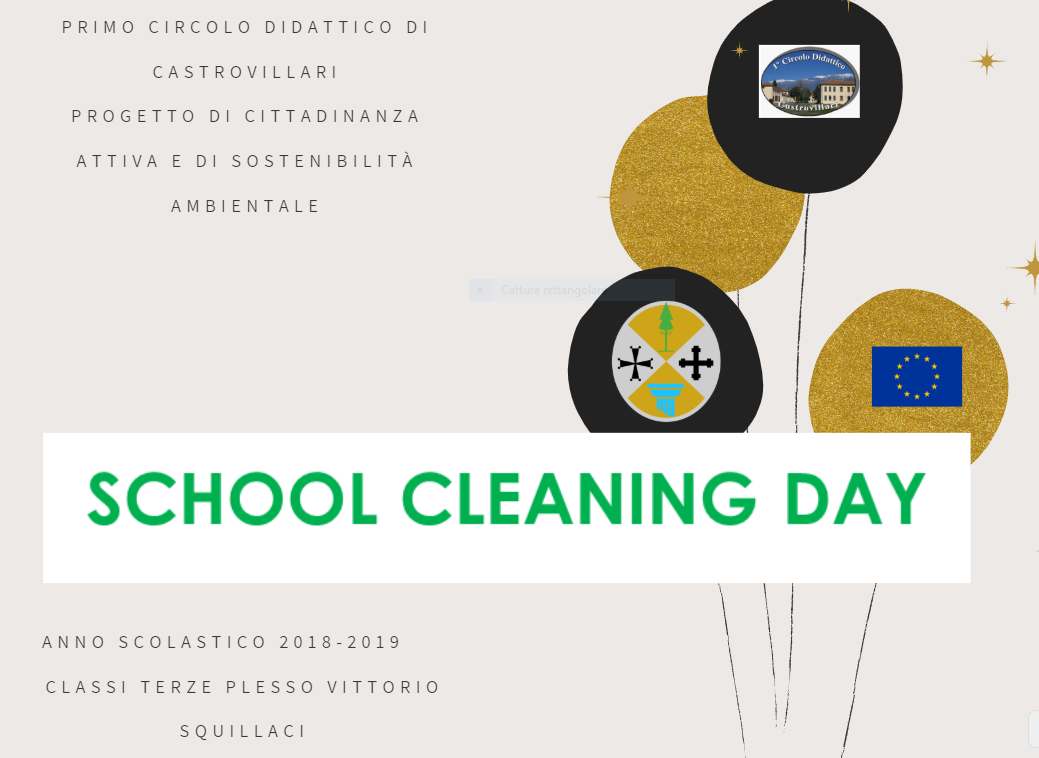 school cleaning copertina